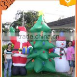 2015 cheap and Hot Selling Giant Christmas Inflatable Santa Clause / inflatable christmas tree for promotion