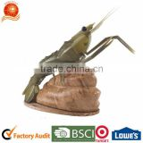 new design 5 pcs Non-stick stainess steel kitchen knife with lobster modern tableware holder