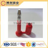 High Security Container Steel Bolt Seal with number door lock seal for cargo security seal