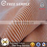 Hot Sale Fine Wide Wale Corduroy Fabric For Cushion 2016