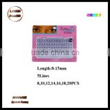 Lanson factory Salon professional la charme false eyelash/individual eyelash extensions wholesale