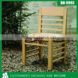 Bamboo Outdoor Chair, Cheap Outdoor Chair, Outdoor Dining Chair