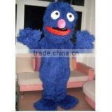 Sesame Street Cookie Monster Costume , Elmo Monster Adult Mascot Costume , Cartoon Mascot, Free Shipping