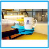2016 Hot Selling Cup Holder Clip ,Coffee Cup Holder,Plastic Table clip Cup Holder