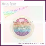 2016 Newest Rainbow Highlighter Sunny Baking Makeup Blusher and Eyeshadow Palette
