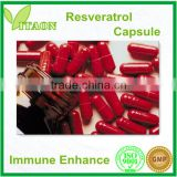 Resveratrol Capsule and OEM Private Label for Anti-oxidant