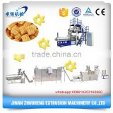 corn puff snack extruder / rice bulking machine /corn puffed expanded snacks food making machine