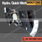 Skid Steer Hydraulic Quick Hitch with tilt function