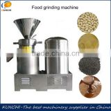 Longlife industrial food colloid mill/ grinder/ sesame paste/ peanut butter making machine/ food colloid milling machine