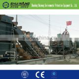 high quality and low price wheel sand washing machine/sand washer