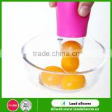 ISO9001 And Sedex4P Certification Cute And Funny Useful Silicone Egg Separator Egg Yolk Divider Egg Separator