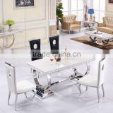 Best factory furniture marble dining table living room furniture