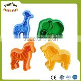 custom make cartoon animal shape plastic cookie cutters,Make oem plastic cartoon shape cookie cutters
