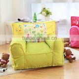 Lovely Colorful Printed Forest Party Kids Upholstery Sofa - New Arrival Cute Designed Children Room Pouf BF11-02284b