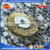 75MM steel wire cup brush wheel twist knot crimped bowl disc abrasive M10 round grinding cheaning brush