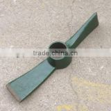 Hight quality Pickaxe with fiberglass handle P407