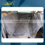2 Layers Car Dog Seat Cover with Surface Soft Cloth Material and Back Waterproof Polyester