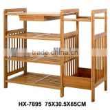 Hot Selling KD Design Bamboo Shoe Rack
