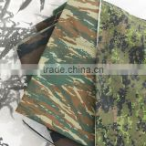 65% polyester and 35% cotton Forest camouflage fabric