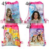 New product 2015 school bag for teenagers peper bag school backpack violetta Drawstring School Backpacks