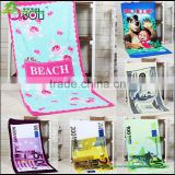 Summer beach towel wholesale custom printed microfiber hammam beach towel