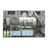 Aloe Pulp Juice Filling Machine Glass Bottle Carbonated Drink Filling Line 3 in 1