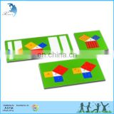Montessori Teaching Wooden Number Tiles Educational Flash Cards