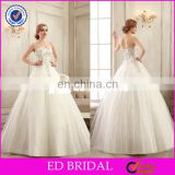 CE194 Luxury A-Line Crystal Beading Lace Real Sample Pictures Of Sexy Wedding Night Dresses Gown