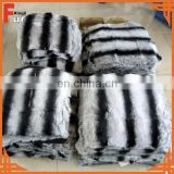 Rex Rabbit Fur in Chinchilla Design, Rex Chinchilla Fur
