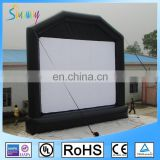 Big Durable PVC Tarpaulin Outdoor Inflatable Movie Screen / Inflatable TV Screen For Sale