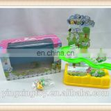 lovely B/O fast track toys,hot sell cartoon track toy YX0263467