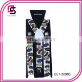 Cartoon printed cheap price suspender fashion suspender