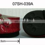 Cute! Mini Dark Red Glitter Shoes for Plush Toys and Dolls! Best price!