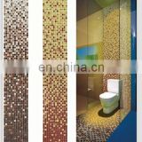 Glass mosaic tiles for bathroom decoration