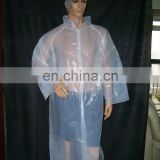 disposable isolation gown for patient