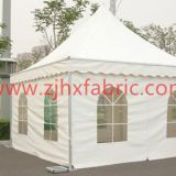 White Fabric Tent Awning Canvas Cover pagoda Tarpaulin