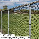 2018 easily assemble pvc coated 6 foot chain link fence