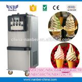 LCD display tabletop soft ice cream making machine