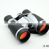 Ruby Colored UV Coated Optics Compact Binoculars With Protective Nylon Carrying Pouch