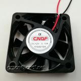 CNDF china factory supplier dc brushless fan 12VDC sleeve bearing 50x50x10mm 0.14A  1.68W  14.23W