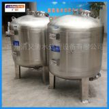 Multi-media activated carbon mechanical tank inclined tube packing sediment pretreatment