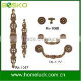c shaped furniture cabinet pull handle zamak handle