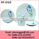 Hot Sale Personalized Ceramic Round Dinner Set In Dinnerware Sets for Daily Use