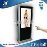 22 inch all in one pc multi touch screen floor stand computer lcd touch kiosk
