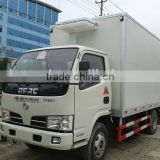 EuroIII or Euro IV refrigerated truck from china, dongfeng light freezer trucks for sale