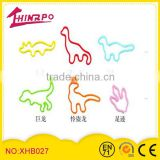 Various shape stock size rainbow silicone rubber bands