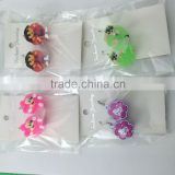 Multicolor flashing free sample LED earring with beautiful shape