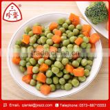 2015 new crop canned green peas with carrot