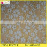 Factory Hot Selling Gold Spandex African Golden Fabric For Women Dress