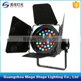 disco dj stage light for sale dmx 36x3w rgb led par light with barn door